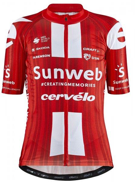 Craft Team Sunweb Rennrad Trikot Damen 2020