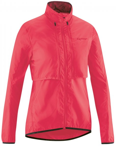 Gonso Bernira Damen Windjacke Zipp - diva pink