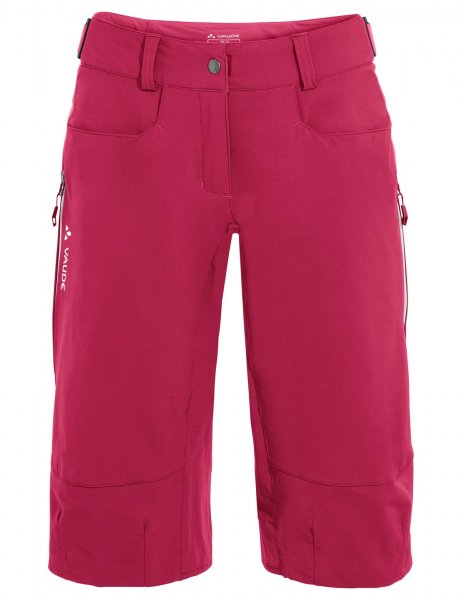 Vaude Womens Moab Shorts IV - crimson red