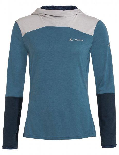 Vaude Womens Tremalzo LS Shirt - blue gray