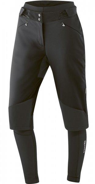 Gonso Turia Damen Softshell Fahrradhose - schwarz
