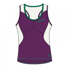 Qloom Sarina Damen Radtop purple