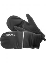 Craft Hybrid Weather Glove Unisex schwarz