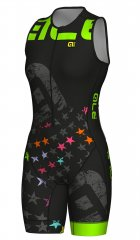 Alè Long Tri Stelle S/less Skinsuit