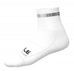 Alè Logo Q-Skin Socks - weiß
