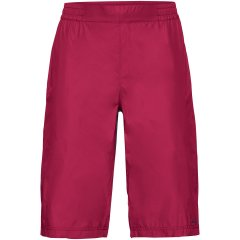 Vaude Drop Damen Regenshort - crimson red