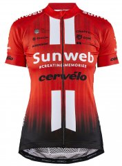 Craft Team Sunweb Rennrad Trikot Damen