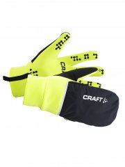 Craft Hybrid Weather Glove Unisex Neongelb