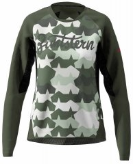 Zimtstern TechZonez Shirt LS Women - fog green