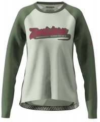 Zimtstern ProTechZonez Shirt LS Women - green