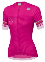 Sportful Sticker Damen Radtrikot - bubble gum