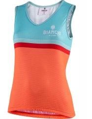 Bianchi Liscia Damen Radtop - orange