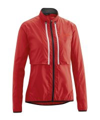 Gonso Bernira Damen Windjacke Zipp - red