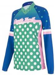 Deputy Sheriff Biancaneve Damen LS Bike Jersey -  green