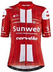 Craft Team Sunweb Rennrad Trikot Damen 2020