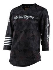 Troy Lee Designs Women Mischief Jersey - floral black