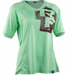 Race Face Nimby Damen Bikeshirt - lime