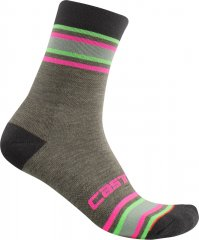 Castelli Striscia Damen Socken -  military green