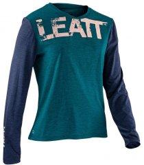 Leatt DBX 2.0 Jersey Long Sleeve Women 2021 - jade