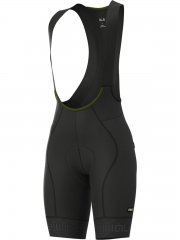 Alè Green Road Damen Bibshort- black/ charcoal