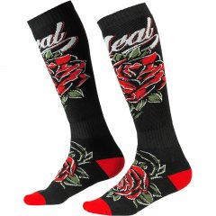 O`Neal PRO MX Sock ROSES black/red (One Size)