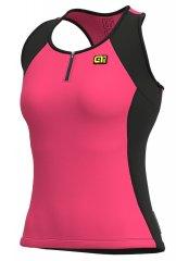 Alè Color Block Lady Radtop - pink
