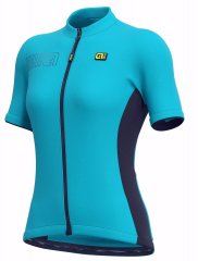 Alè Color Block Lady Jersey - blau