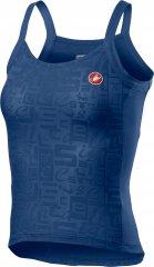 Castelli Promessa Jacquard Bavette Top - agate blue
