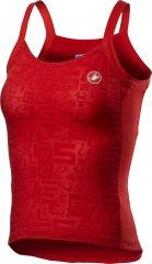 Castelli Promessa Jacquard Bavette Top - red