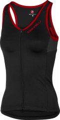 Castelli Solare Damen Radtop -  black/red