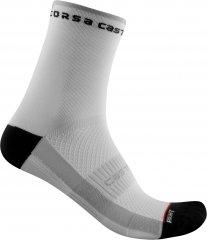 Castelli Rosso Corsa W11 Sock - black white