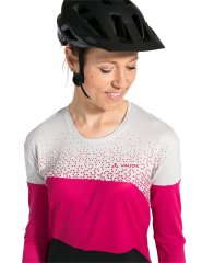 Vaude Womens Moab LS T-Shirt V - bramble