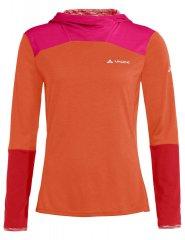 Vaude Womens Tremalzo LS Shirt - tangerine