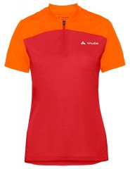 Vaude Womens Tremalzo Shirt IV - mars red