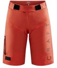 Craft Core Offroad XT Shorts Damen mit Pad - coral