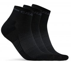 Craft Core Dry Mid Sock 3-Pack - black