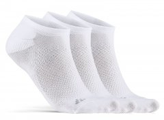 Craft Core Dry Footies 3-Pack - white
