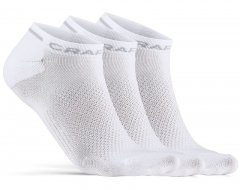 Craft Core Dry Shaftless Sock 3-Pack - white