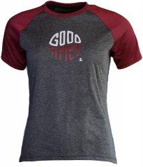 Zimtstern PureFlowz Shirt SS Women - gun metal