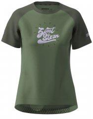 Zimtstern PureFlowz Shirt SS Women - green forest