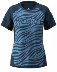 Zimtstern Techzone Shirt SS Women - heritage blue
