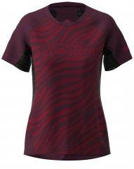 Zimtstern Techzone Shirt SS Women - jester red