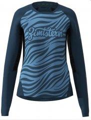 Zimtstern Techzone Shirt LS Women - heritage blue