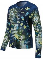 Protective P Bang!!! Damen Longsleeve - dark blue
