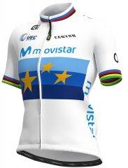 Alé Movistar Team Campione Europa Damen Rennradtrikot
