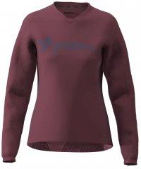 Zimtstern EcoFlowz Shirt LS Women - jester red