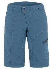Vaude Womens Tamaro Shorts - blue gray