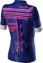 Castelli Astratta Damen Jersey - lapis blue