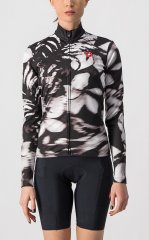 Castelli Unlimited Damen Thermal Jersey - black white