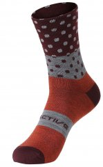 Protective Ride Day Socken - fiery coral